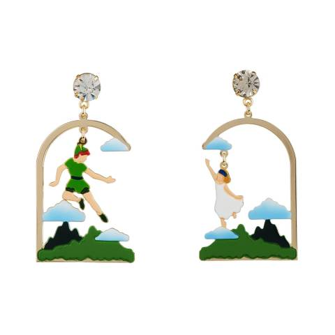 Peter Pan And Wendy Flying
