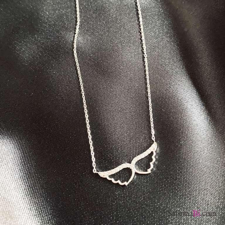 Collana argento 925 Ali di Angelo