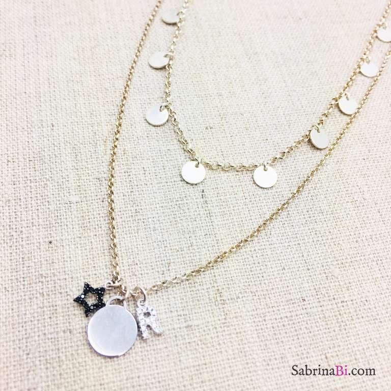 Collana doppia argento 925 Calithea