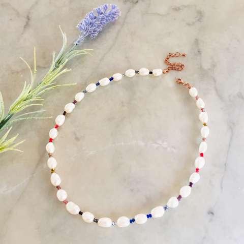 Collana Rainbow Perle Scaramazze